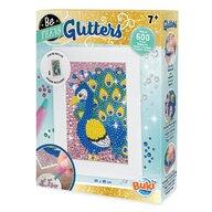 Buki France - Set creativ Paun , Glitters