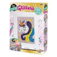 Buki France - Set creativ Glitters, Unicorn