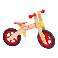 Globo - Bicicleta fara pedale din lemn Legnoland 35483 pentru copii