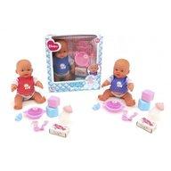 Globo Bimbo Papusa bebe cu accesorii mancare si baloane de sapun