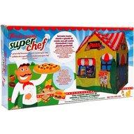 Globo - Cort pentru copii de joaca pentru interior sau exterior casuta Chef pizza