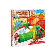 Globo - Cort pentru copii de joaca pentru interior sau exterior cu tunel inclus Dinozauri