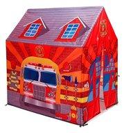 Globo - Cort pentru copii de joaca pentru interior sau exterior Garaj pompieri