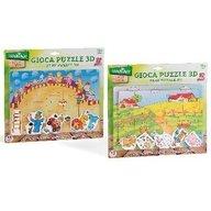 Globo Legnoland - Puzzle lemn 3D 22 piese