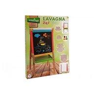 Globo Legnoland - Tabla din lemn 55 cm x 106 cm x 55 cm cu inaltime reglabila
