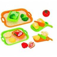 Globo Set fructe si legume cu tava GLOBO CUCCINA pentru copii