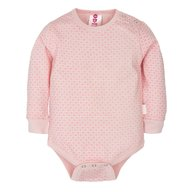 Gmini Body cu maneca lunga Basic Pink Hearts