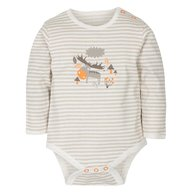 Gmini Body cu maneca lunga Stripes and Reindeer