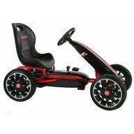 EandL Cycles - Kart cu pedale Go Kart Abarth, Negru