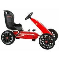 EandL Cycles - Kart cu pedale Go Kart Abarth, Rosu