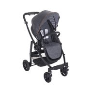 Graco - Carucior Evo II 3 in 1 Breton Stripe