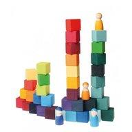 GRIMM'S Spiel und Holz Design Cuburi Mozaic, mediu