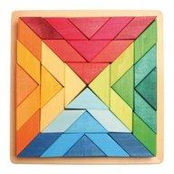 GRIMM'S Spiel und Holz Design - Puzzle Square Indian