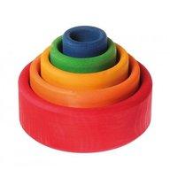 GRIMM'S Spiel und Holz Design Set de boluri, multicolor - SPIEL GUT