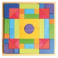 GRIMM'S Spiel und Holz Design Set de construit cu forme geometrice