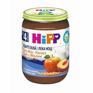 HiPP - Gris cu mar si piersica, 190 gr