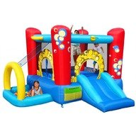Happy Hop Saltea gonflabila Buble Play center 4 in 1