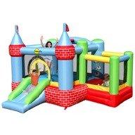 Happy Hop Saltea gonflabila Castel cu loc de joaca cu bile