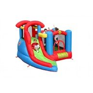 Happy Hop Saltea gonflabila Play and Slide