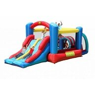Happy Hop Saltea gonflabila Racing fun 530x250x215