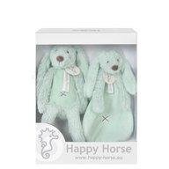 Happy Horse Set cadou Jucarii de plus Iepurasul Richie Lagoon