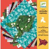 Djeco - Hartie origami 100 coli