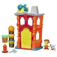 Hasbro - Set plastilina Play-Doh Statia Pompierilor