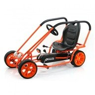 Hauck Toys Go Kart Thunder II Orange