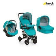 Hauck Set Carucior Miami 4 Trioset - Petrol Grey