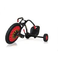 Hauck Toys Go Kart Typhoon - Black Red