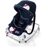 Hello Kitty - Brevi balansoar cu parasolar Baby rocker