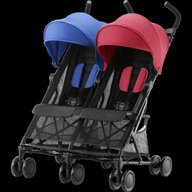 Britax Romer - Carucior Holiday Double, Red, Blue