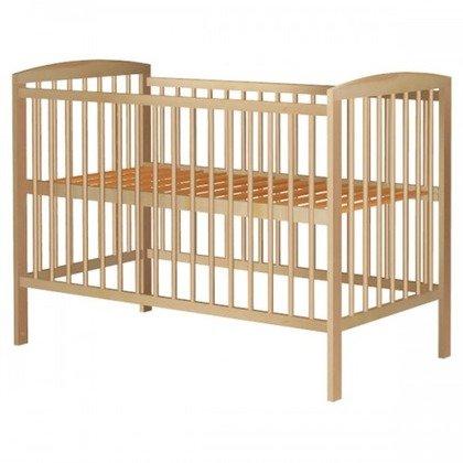 Hubners Patut copii din lemn Anzel 120x60 cm natur