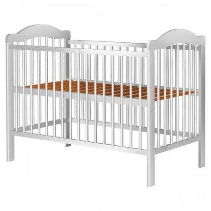 Hubners Patut copii din lemn Lizett 120x60 cm alb