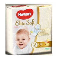 Huggies Elite Soft (nr 3) Convi 21 buc, 5-9 kg
