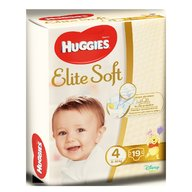 Huggies Elite Soft (nr 4) Convi 19 buc, 8-14 kg