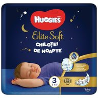 Scutece chilotel de noapte Huggies Elite Soft Overnight Pants (nr 3) 23 buc, 6-11 kg