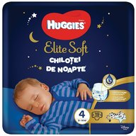 Huggies Elite Soft Overnights Pants (nr 4) 19 buc, 9-14 kg