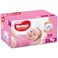 Huggies - Scutece UC Box (3) Girl 112 buc, 5-9 kg