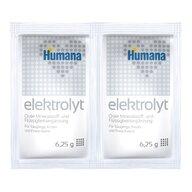 Humana - Elektrolyt fenicul de la nastere folie cu 2 plicuri * 6,25 g