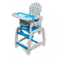 Husa pentru scaun de masa Juju Eat&Play, Albastru