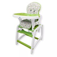 Husa pentru scaun de masa Juju Eat&Play, Verde
