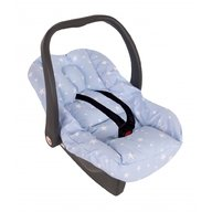 Sevi Baby - Husa protectie scoica auto cu reductor, Blue Stars