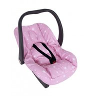 Sevi Baby - Husa protectie scoica auto cu reductor, Pink Stars