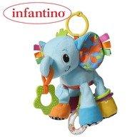 Infantino Elefantul Peanut cu multe activitati