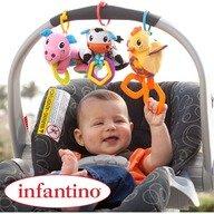 Infantino Set 3 jucarii Bebe Barn
