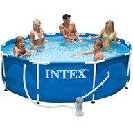 Intex Piscina cu cadru metalic cu pompa de filtrare 305 x 76 cm