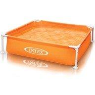 Intex Piscina cu cadru metalic Mini 122 x 30 cm portocaliu