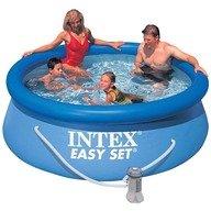 Intex Piscina Easy Set cu pompa de filtrare 244 x 76 cm