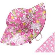 Iplay - Palarie soare copii cu doua fete 6-18 luni UPF50+, Pink